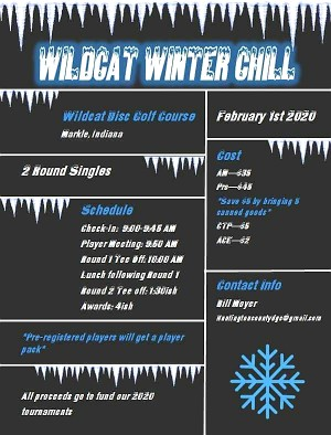 Wildcat Winter Chill graphic