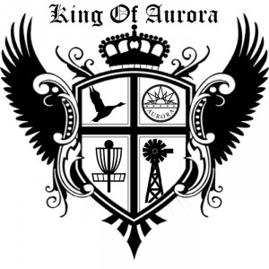 King of Aurora Presented by Elevated Disc Golf graphic