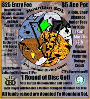 Giving Goats Fundraiser for Mountain SOL graphic
