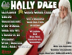 The 2019 Holly Daze 30th Anniversary graphic