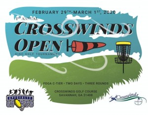 Crosswinds Open Presented by Forever Lawn  Lowcountry Driven by Innova Discs graphic
