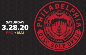 2020 Philadelphia Disc Golf Open - Driven by Innova - All Open Divisions and MA1 graphic