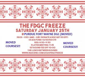 The FDGC Freeze graphic