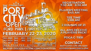 Dynamic Discs Presents: 7th Annual Port City Open (All Advanced, Recreational and Juniors) graphic