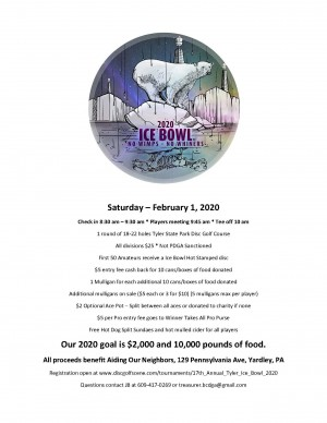17th Annual Tyler Ice Bowl graphic