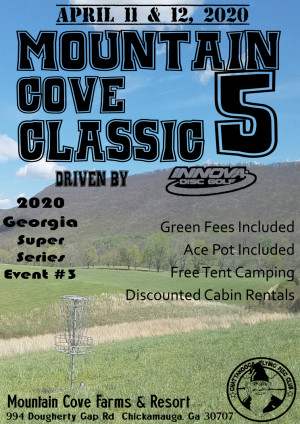 Cancelled - Mountain Cove Classic 5 graphic
