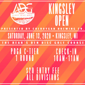 Kingsley Open presented by Cheboygan Brewing Co. graphic