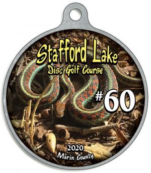 Stafford Lake 2020 Bag Tag graphic