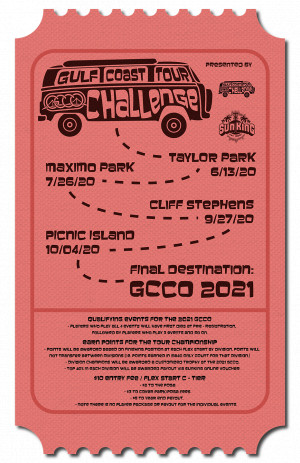 Gulf Coast Tour Challenge - Stop 3 (Taylor Park) Presented by Latitude 64 graphic