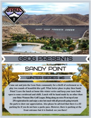 GSDGC Winter Series #6 Sandy Point graphic