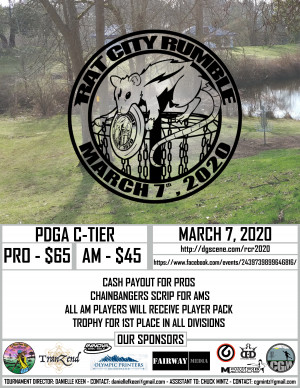 Rat City Rumble 2020 supported by Innova graphic