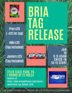 Bria Tag Release graphic