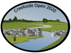 Creekside Open 2020 graphic