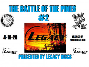 The Battle Of The Pines #2 Presented By Legacy Discs graphic