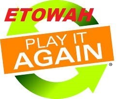 """Etowah Play it Again"" graphic"
