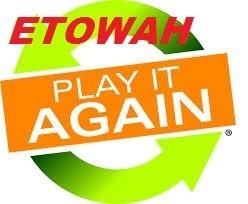 """Etowah Play it Again"" graphic"