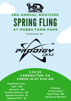 3rd Annual Westside Spring Fling - Powered by Prodigy graphic