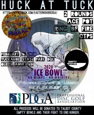 Huck at Tuck: Ice Bowl graphic