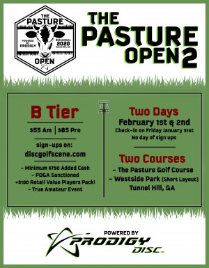 The Pasture Open Powered by Prodigy graphic