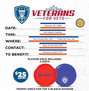 "Take a Leap ""Veterans for Vets"" BYOP Doubles Tourney graphic"