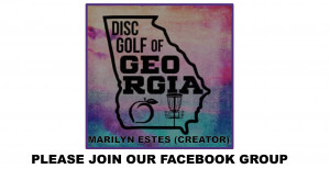 """Disc Golf of Georgia February MEMBERSHIP 2021"" graphic"