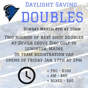 Daylight Savings Doubles graphic