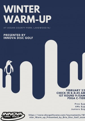 Winter Warm-up Presented by Innova Disc Golf graphic