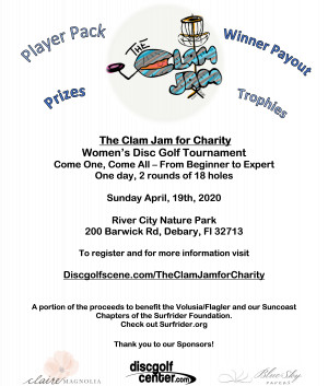 The Clam Jam for Charity graphic