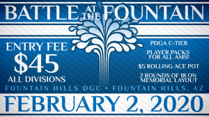 Battle at the Fountain II - presented by Dynamic Discs graphic