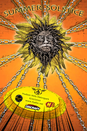 Summer Solstice presented by DISCRAFT graphic