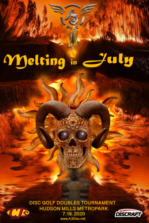6th Annual Melting in July presented by CJ'S PARTY STORE graphic