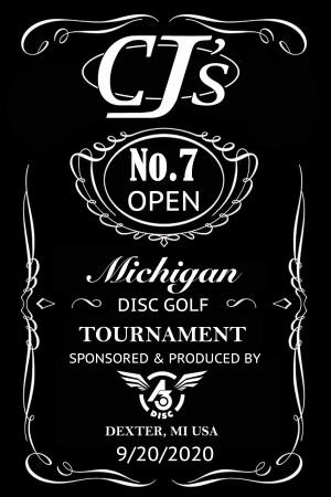 7th Annual CJ's Open graphic