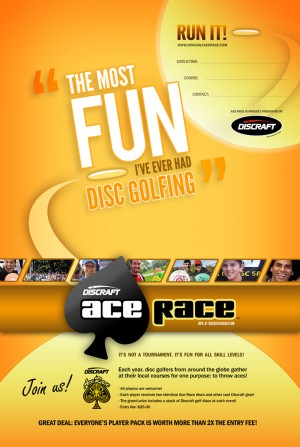 Discraft Ace Race presented by Disc Golf Depot & Acerbinky graphic