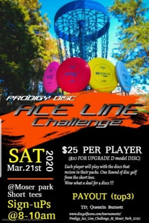 Prodigy Ace Line Challenge At Moser Park graphic