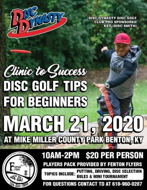 Clinic to Success: Disc Golf Tips For Beginners graphic
