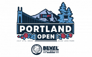 DGPT - The Portland Open presented by Bevel Craft Brewing AM Side graphic