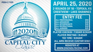 Dynamic Discs Presents: 2020 Capital City Classic graphic