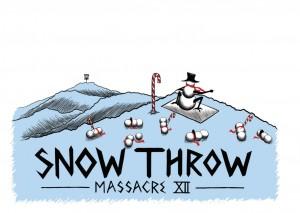 Snow Throw Massacre XIII graphic