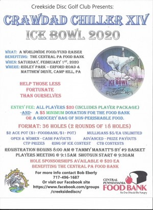 Crawdad Chiller XIV Ice Bowl 2020 graphic