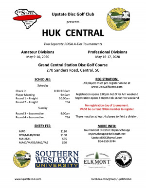 Huk Central - Am graphic