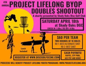 Project Lifelong BYOPartner Doubles Shootout graphic