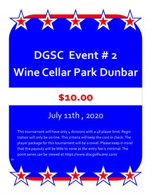 DGSC Points Series At Wine Cellar graphic