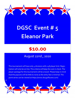 DGSC Points Series At Eleanor graphic