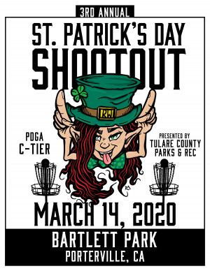 3rd Annual St Patrick's Day Shootout - Sponsored By Tulare County Parks & Recreation graphic
