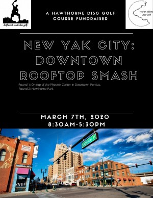 New Yak City: Downtown Rooftop Smash - Course Fundraiser! graphic