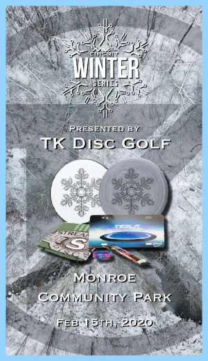 MVP Winter Series Random Doubles - Presented by TK Disc Golf graphic