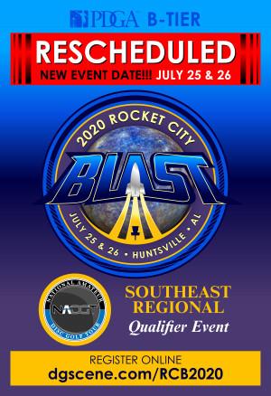 2020 Rocket City Blast graphic