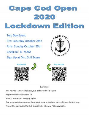 Cape Cod Open 2020 AMS graphic