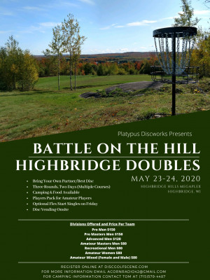 Battle on the Hill: Highbridge Doubles graphic