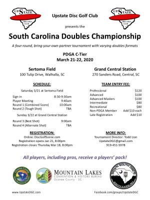 SC Doubles Championship graphic